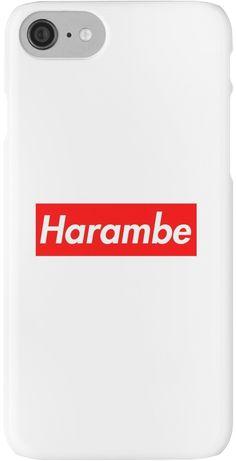 Harambe red box logo