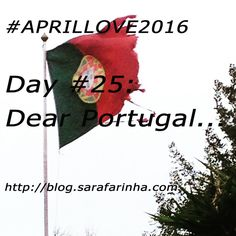 """""Dear Portugal, (…) today we celebrate the 41st. anniversary of the end of dictatorship. (…) My dear country, you are made of farce and contradiction, bad things, bad people and bad choices. But there's also so much good in you. And you are my home, and I'm still doing my best to honor you."" #APRILLOVE2016 You Are My Home, Love Letters, Choices, Portugal, Challenges, Anniversary, Country, Day, People"