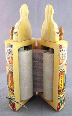 Sefer Torah Scroll--tiny Torah gift!