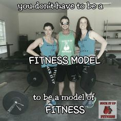 You don't have to be a fitness model to be a model of fitness.  #suckitupfitness #happysaturday #lifestyle . . . . . . . . . . . #bodybuilding #crossfit #gymlife #iifym #fitfam #weightloss #ironaddict #fitness #fitspo #girlswholift #bigbench #physique #workout #athlete #doyoueven #abs #arms #squat #biceps #motivation #trainharderthanme #sweat #dedication #lifting #fit #strength #weights