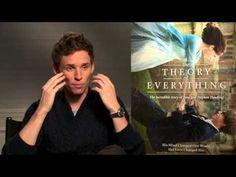 Entrevista ao ator Eddie Redmayne #eddieredmayne #theoryofeverything #oscars #stephenhawking