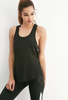 Forever 21 is the authority on fashion & the go-to retailer for the latest trends, styles & the hottest deals. Shop dresses, tops, tees, leggings & more! Cute Gym Outfits, Sport Outfits, Sports Bra Outfit, Clothing Logo, Active Wear For Women, Racerback Tank, Athletic Tank Tops, Girl Fashion, Forever21