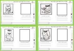 El bosque encantado: El monstruo de colores: trabajamos la educación emocional Bon Point, Grande Section, Les Sentiments, Behavior Management, Business For Kids, Fun Projects, Literacy, Bar Chart, Acting