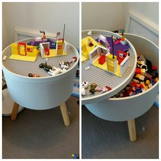 New Ideas Lego Storage Ideas Kmart Lego Storage Ideas - Kids playroom ideas Storage Tubs, Playroom Storage, Lego Storage, Playroom Design, Storage Hacks, Bedroom Storage, Storage Ideas, Large Toy Storage, Playroom Ideas