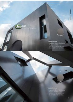 Manufacturers of stainless steel surface finishes that are corrosion resistant, anti-bacterial & self-cleaning making it ideal for walls, roofs & ceilings Stainless Steel Balustrade, Steel Cladding, Cladding Materials, Roof Ceiling, Surface Finish, Wrought Iron, Custom Design, Technology, Architecture
