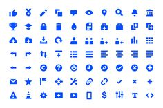 Icon family for Adobe Behance, the biggest creative network in the world.