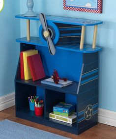 Take a look at this Airplane Bookcase today!