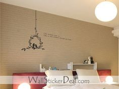 Birds Couple Love Quotes Wall Stickers – WallStickerDeal.com