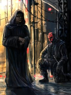 The Sith's Rule Of Two /by Entar0178 #deviantART #starwars #art
