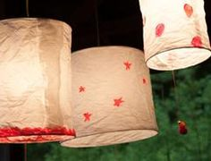 How to Make Floating Paper Lanterns | Crafts - Creativebug