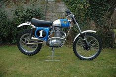 Latest production Victor for 500 BSA engine Bsa Motorcycle, Motocross Bikes, Old Bikes, Dirt Bikes, The Old Days, Street Bikes, Vintage Motorcycles, Motorbikes, It Works