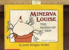 Janet Stoeke Minerva Louise The Mixed Up Hen 1988 Children's Reading Book   eBay