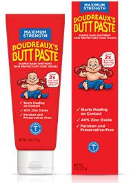 Maximum Strength Boudreaux's Butt Paste is as tough as it sounds. On baby's rash, not baby's butt.
