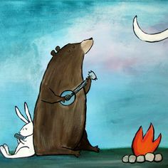 Whimsical, storybook art by Texas artist Andrea Doss. Every painting is more than just a work of art--its a story waiting to happen!
