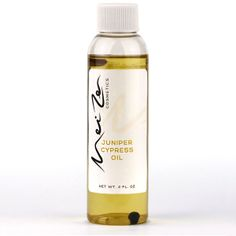 Juniper Cypress Oil - $30.00 Juniper Cypress Oil is made from organic sunflower oil infused with basil, lemon peel, juniper berries and rosemary along with the Chinese herbs da huang, gui zhi, and hou po.  http://www.meizencosmetics.com/juniper-cypress-oil/