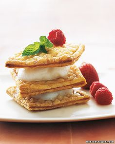 Sorbet Napoleons - Martha Stewart Recipes