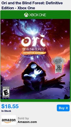 Join Ori, the last spirit guardian, and discover the mysteries of a dying forest while escaping the evil clutches of Kuro. * Packed with new and additional content: new areas, more story sequences, multiple difficulty modes, fast travel between areas and much more. * Includes bonus material in the Definitive Edition includes a digital copy of the original game, behind the scenes videos chronicling the making of the game and much more. * Includes a CD of the award winning original soundtrack…