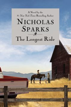 The Longest Ride/Nicholas Sparks http://encore.greenvillelibrary.org/iii/encore/record/C__Rb1355404