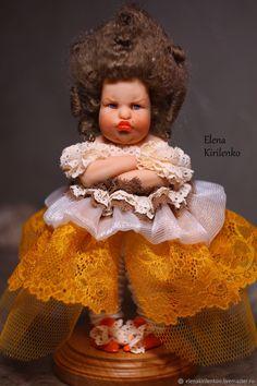 """Коллекционные куклы ручной работы. Ярмарка Мастеров - ручная работа. Купить """"Яблочный мусс"""". Handmade. Коричневый"""
