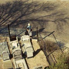Begraafplaats op Urk / Graveyard in Urk, The Netherlands