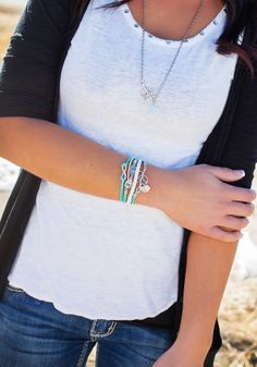 Your Choice of Wrap Bracelet: Simply Reese. Living Social. Like bracelets and necklace.