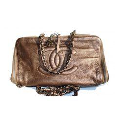 Chanel Bronze Giant Luxury Bowler Bag