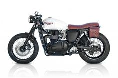 Cafe Racer Special Triumph Bonneville By Deus Ex Machina Left Side Details