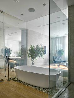 contemporary elegant apartment interior design by Fedorova 25