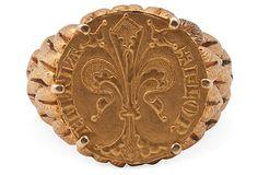 Italian Gold Men's Ring on OneKingsLane.com