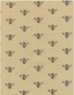 Timeless Treasures French Court Bumble Bee in Beige/Neutral/Taupe @ Robin's Nest