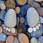 Muito show - As pegadas de pedra de Iain Blake
