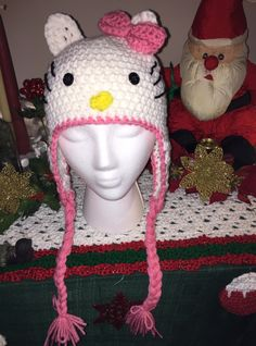 Thank You Crochet in color for the free  Hello Kitty Pattern