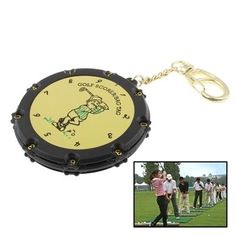 amazones gadgets QN 18-Hole Dual Side Round Manual Golf Score Counter with Keychain: Bid: 11,93€ Buynow Price 11,93€ Remaining 05 dias 04…