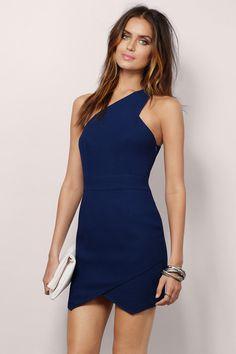 Split Second Bodycon Dress at Tobi.com #shoptobi