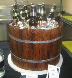 Beer In A Barrel I Had So Much Fun Making This Cake And