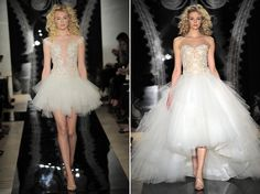 Reem Acra Bridal Collection SS 2014 | Fly Away Bride