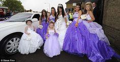 gypsy dresses | My Big Fat Gypsy Wedding star holds head high as she steps out alone ...