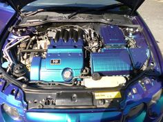 Superficial engine bay mod 1