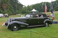 1937 Cadillac Series 90  Fleetwood Convertible Sedan