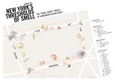平面设计师是谁通过嗅觉映射世界城市| 纽约客