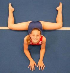 Many gymnasts find the center split to be the trickiest one to get to 180 degrees (a full split.) Here's step by step stretching instructions for how to do a middle split.: Beginner Center Split: Both Knees Bent