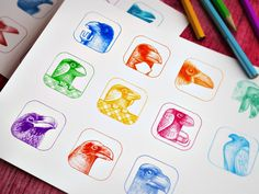 Designing another app icon :) by RamotionFollow:Twitter|Facebook|Pinterest|Behance
