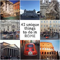 Unique Things to Do Rome