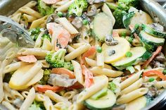 Veggie-packed Pasta Primavera by Ree Drummond / The Pioneer Woman