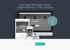 Cristy eclipse business template by LnD Creative on @creativemarket