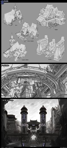 GGSCHOOL, Artist 김창민, Student Portfolio for game, 2D Scene Concept Art, www.ggschool.co.kr