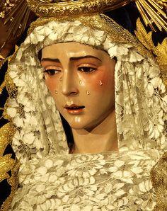 Virgen del Rocio. Festividad de la Inmaculada,Sevilla.