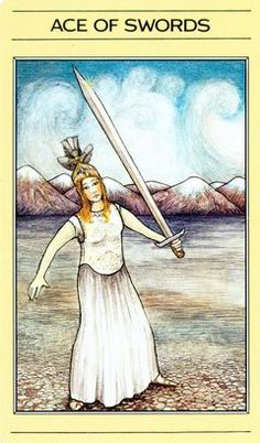 Apple River Tarot Readings - It's Not The Destination, It's The Journey: Ace of Swords - It's A Movement Lotus Tarot, Ace Of Swords, Free Tarot Reading, Oracle Cards, Tarot Decks, Tarot Cards, Mystic, Painting, Knives
