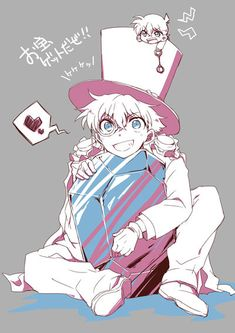 pixiv is an illustration community service where you can post and enjoy creative work. A large variety of work is uploaded, and user-organized contests are frequently held as well. Manga, Tsubaki Chou Lonely Planet, Magic For Kids, Kaito Kuroba, Conan Comics, Detective Conan Wallpapers, Kaito Kid, Magic Kaito, Case Closed