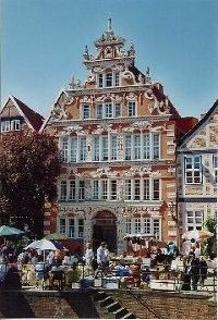Hamburg, lovely old Kaufmannshaus